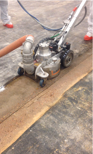 "40,000 PSI Ultra High Pressure Water Blasting ""Spin-Jet"" system"
