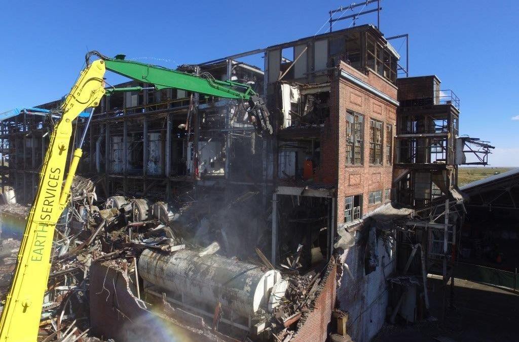 Owners of an Abandoned Sugar Factory in Colorado Save Millions in Demo Work