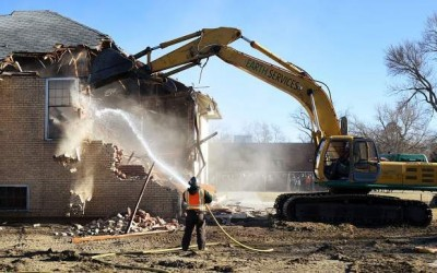 Nearly 100-year-old school building in LaSalle destroyed to make way for progress